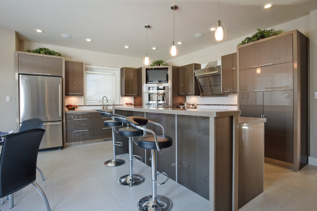 Modern Kitchen Edmonton Interior Design