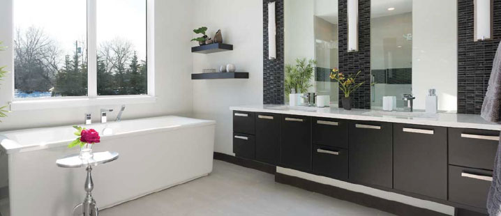 When It Comes To Designing A Bathroom Space That Is Both Beautiful And  Functional, One Of Our Favourite Styles To Design With Is A Floating Vanity.  Floating ...