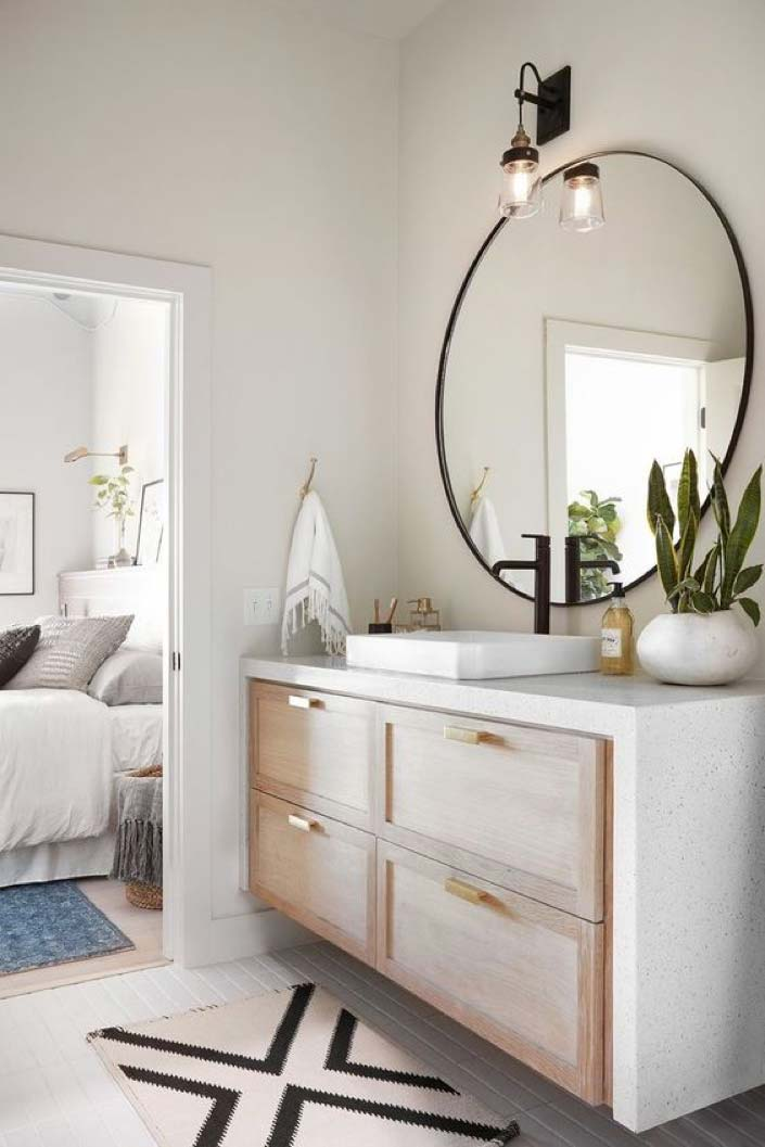 Trend Alert Light Wood Vanities Gem Cabinets