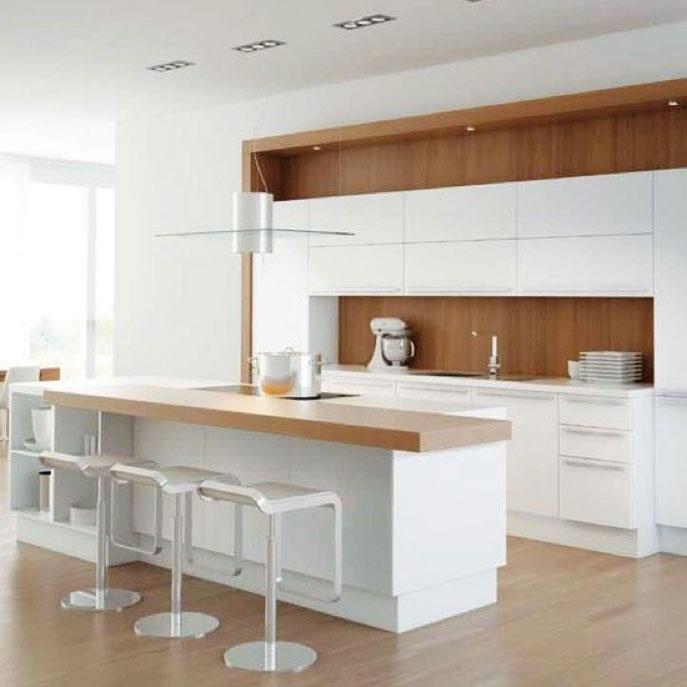 Walnut Kitchen Designs: White & Walnut Kitchens We Love